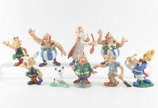 Asterix und Obelix === 9 x Figuren Serie Bully / Bullyland 1990 / 92
