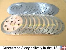 JCB BACKHOE - BRAKE PLATES KIT, SET OF 10 & 12 (PART NO. 450/10211 450/10212)