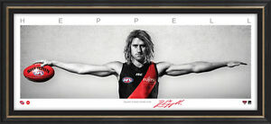 Dyson Heppell Signed Essendon Captain Mini Wings Official AFL Print ONLY