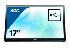 "Ecran 17,3"" USB externe marque AOC | Se connecte via l'USB | Réf : E1759FWU"