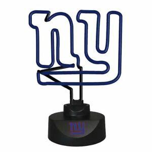 New York Giants NFL Neon Logo Desk Lamp by The Memory Company (NFL-NYG-1808)