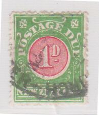 (STF-26) 1902 NZ 1d postage dues