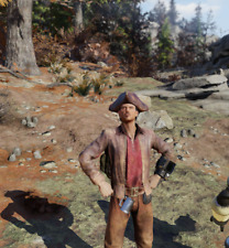 Fallout 76 - PS4/5 - 🌟 Apparel 🌟 - Pirate Costume with Hat 🔥🔥🔥