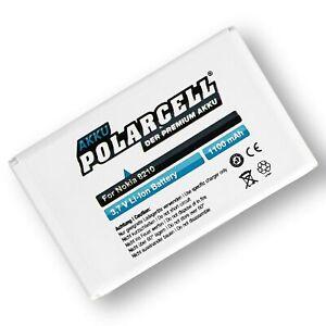 PolarCell Akku für Nokia 8210 8310 6510 7650 5210 8250 8850 8890 8910 BLB-2 Accu