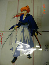 Rurouni Kenshin Samurai X  Battousai Anime FanCel Fan Reproduction Cel