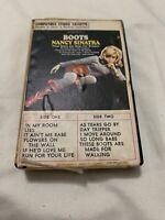 Nancy Sinatra  Boots Snap Case Cassette Ampex.