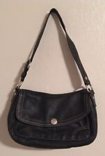 Coach Pebbled Leather Purse with Magnetic Snap Close & Several Pockets