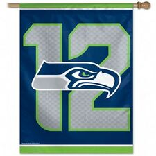 "NFL Seattle Seahawks 27"" X 37"" Wincraft ""12th Man"" Vertical Indoor/Outdoor Flag"