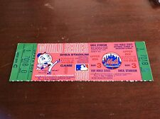 Full NOLAN RYAN Only World Series Appearance Save Ticket MIRACLE Mets 1969 G3