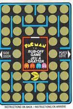 PAC-MAN Rubbelkarte von 1980 - MIDWAY / Atari 2600 c64 Intellivision Arcade NES