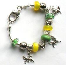 20cm European Chinese New Year Zodiac Year of the Horse charm bracelet, Z7