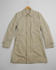 🔥 Ermenegildo Zegna 🔥 Lightweight Khaki Brown Mac Coat, SIZE US 42R/EU 52