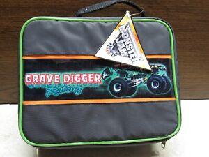 Monster Jam Grave Digger Lunch Bag - Dennis Anderson 2004 Autographed