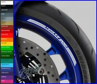 8 x YAMAHA TRACER 900 Wheel Rim Decals Stickers - 20 colors available - mt09 abs