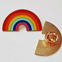 Rainbow LAPEL Pin Badge Thank You gift NHS KEY WORKERS SISTER MUM Friend