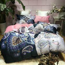 Luxury Velvet Flannel Fashion Classic Bedding Set Warm Printing Duvet Cover Bed