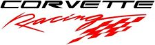 Corvette Racing Vinyl Decal Sticker C3 C4 C5 C6 C7 ZO6 ZR1 **ANY COLOR** (Pair)
