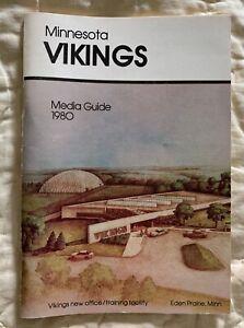 1980 Minnesota Vikings Media Guide - Excellent - SKOL!