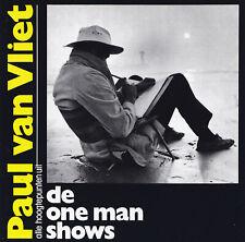 PAUL VAN VLIET - 2 CD - ALLE HOOGTEPUNTEN UIT DE ONE MAN SHOWS