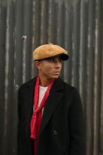 Peaky Blinders Oliver Newspaper Boy Newsboy Bakerboy Leather Cap