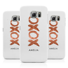 PERSONALISED XOXO CUSTOM NAME OR INITIALS PHONE CASE COVER FOR SAMSUNG GALAXY