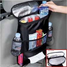 Auto Accessories Car Seat Back Multi-Pocket Insulation Storage Bag Organizer 1pc