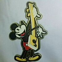 Mickey Mouse Paying His Cigar Box Guitar Disney Pin Rare