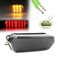 Pair 12V LED Brake Tail Light Turn Signal Integrated For Honda Grom MSX125 14-UP