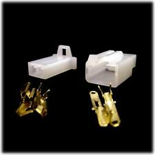 Complete Nylon 2 Way 2.8mm Latching Electrical Motorcycle Connector Kit Scooter