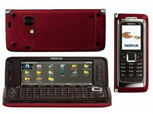 NOKIA E SERIES E90 Unlocked Quad Band GPS Symbian Smartphone red