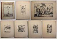 Ludwig Richter Unser tägliches Brod um 1890 Mappe mit 25 Holzstichen xy