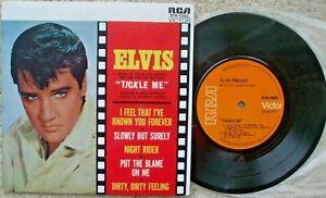 Elvis Presley - Tickle Me - Australia Vinyl - EPA- 4383 Orange Label - EX- 45