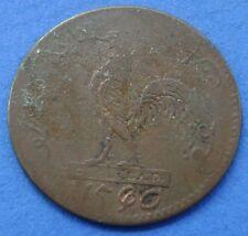 Nederlands Indie - 1 Keping Haantjesduit 1804 Truman  Year 1250 Rooster. KM# Tn2