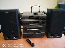 Sony HI-FI LBT-D550 COMPACT STEREO SYSTEM ( 5 CDs Changer) with speakers
