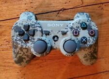 Sony PS3 Sixaxis DualShock 3 Wireless Controller Green Digital Camo Tested OEM