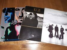 3 X U2 Guitar Tab Books The Joshua Tree Pop All That You Cant Leave Behind Vgc