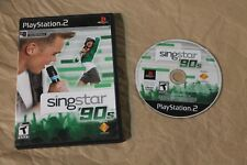 USED SingStar '90s Sony Playstation 2 PS2 Canadian Seller!!