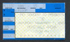 1987 U2 BoDeans concert ticket stub Denver Colorado Joshua Tree Tour Bono Rare