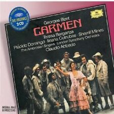 "CLAUDIO ABBADO ""CARMEN (GA)"" 2 CD DOMINGO NEUWARE"