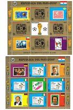 Fußball WM 1990 Paraguay **  Satz / Kleinbögen / FDC