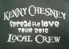 Kenny Chesney Spread The Love 2016 Tour Show Crew Shirt Size XL