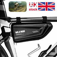Waterproof Cycling Bicycle Bag Front Triangle Frame Top Tube Road MTB Bikes UK