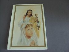 New First Holy Communion Mass Book with Prayers Catholic Keepsake Gift 1982