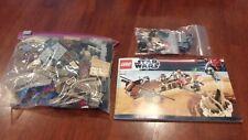 Lego star wars #9496 desert skiff boba fett 100% complete no box
