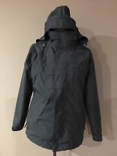 the north face Gray Snow Ski Winter Jacket Rain Coat Sz.18-Youth, S- Woman