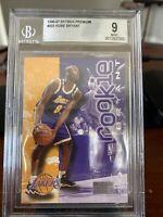 1996 Kobe Bryant #203 Skybox Premium ROOKIE RC BGS 9 MINT! Lakers!