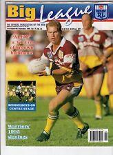 BIG LEAGUE MAGAZINE 75-27 Sep 1993 Brisbane Broncos poster FINALS Canterbury Dog