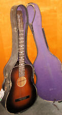 1938 (F38) Parlor Slide Acoustic Guitar Possibly Harmony 1276M223 Geib Chpb Case