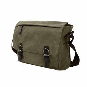 Retro Unisex Canvas Satchel Messenger Shoulder Man Bag Durable Long Strap