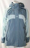 Helly Hansen Helly Tech Ladies Pale Blue Hooded Padded Waterproof Jacket UK10/12